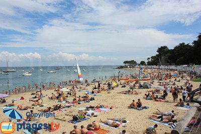 Plage sur l'ile de Noirmoutier