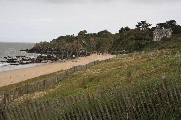 Photo of Jaunais beach in Saint Nazaire in France