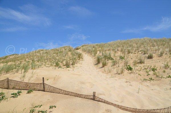 L'accesso alla spiaggia di Jenny