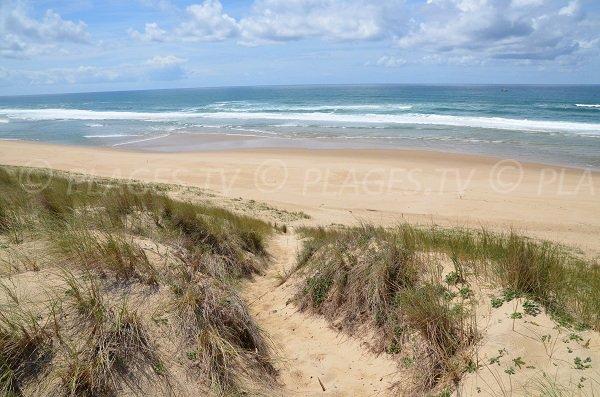 Spiaggia Jenny di Le Porge - Francia