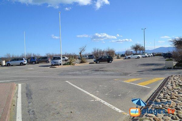 Parcheggio della spiaggia della Jetee - Canet en Roussillon