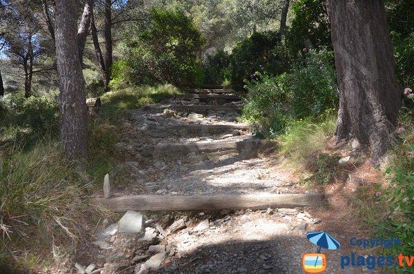 Path to Jonquet beach