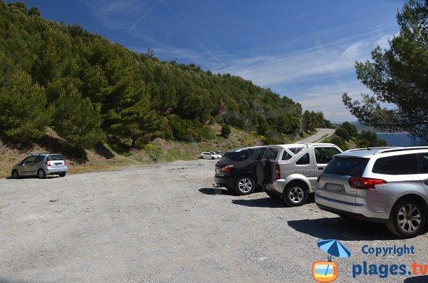 Parking de la crique du Jonquet - La Seyne