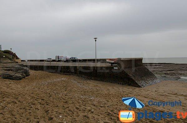 Parking de la plage de Joselière - Pornic