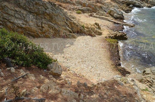Stones in the Jovat creek