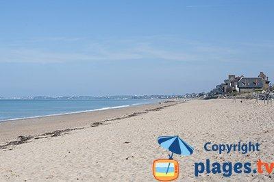 Beach of Jullouville - France