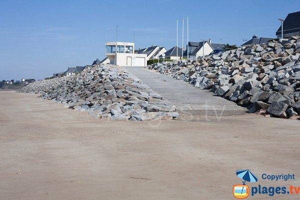 Lifeguard station of Kairon-Plage