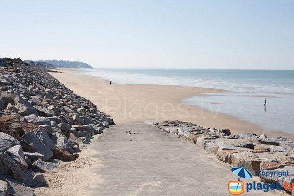 Photo of Kairon beach in Saint Pair sur Mer - France