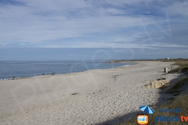 Naturist beach near Lorient - France