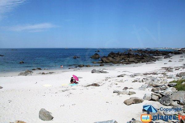 Photo de la plage de Karreg Hir à Kerlouan - Bretagne