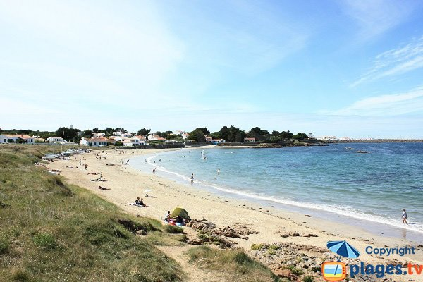 Photo of Ker Chalon beach in Ile d'Yeu in France