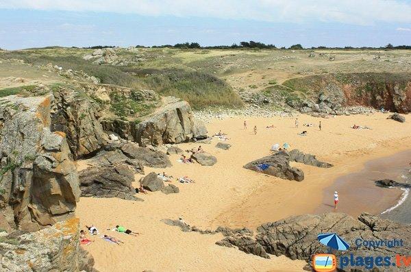 Crique de sable sauvage - Belle Maison