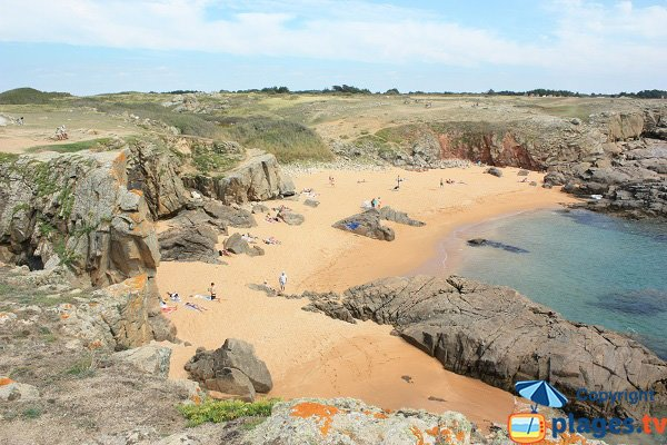 Photo of Ker Daniau Beach in Ile d'Yeu in France
