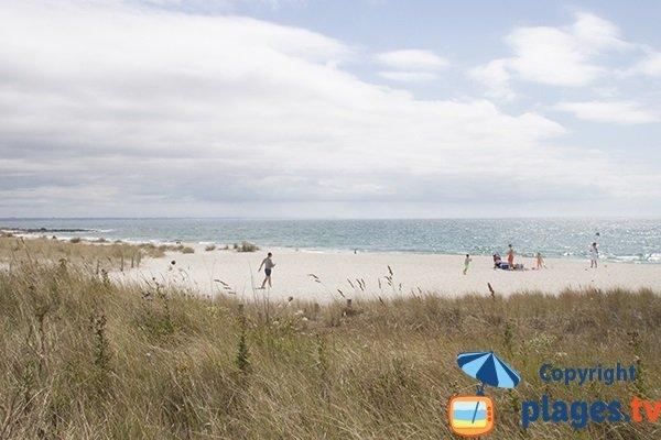 Photo de la plage de kerambigorn à Fouesnant - Finistère Sud