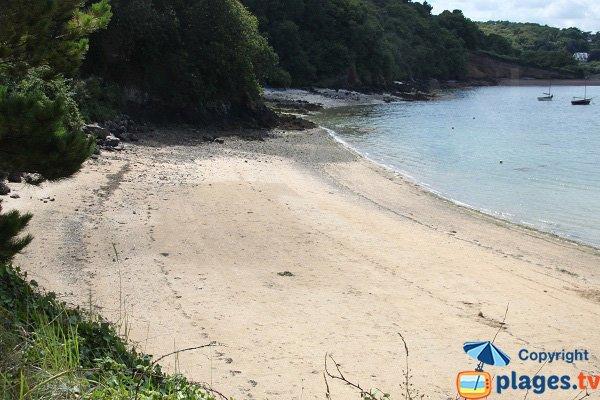 Photo de la plage de Kerarzic à Paimpol