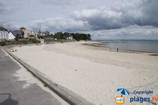Promenade piétonne autour de la plage de Keraudé - St Pierre Quiberon