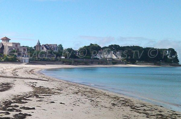 Photo de la plage de Keraude à St Pierre de Quiberon