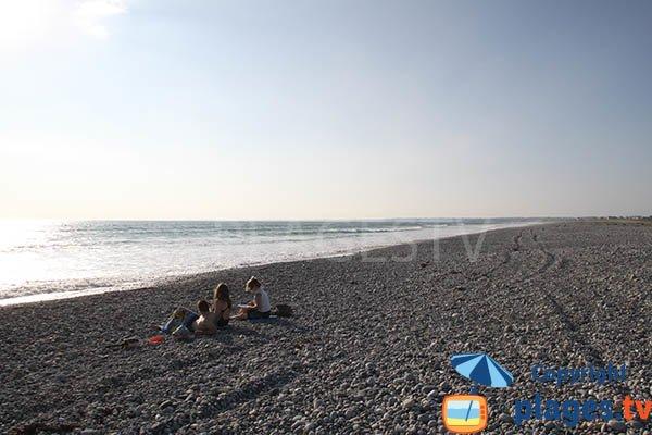 Plage pour le surf à Tréogat à proximité de la pointe de la Torche