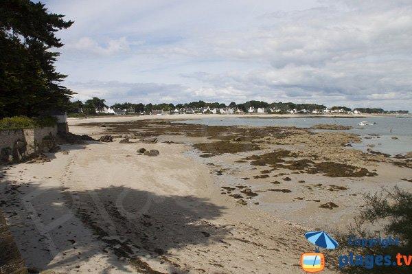 Plage au sud du Port d'Orange à St Pierre de Quiberon