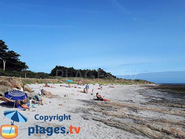 Sable de la plage de Kercambre - Saint Gildas de Rhuys