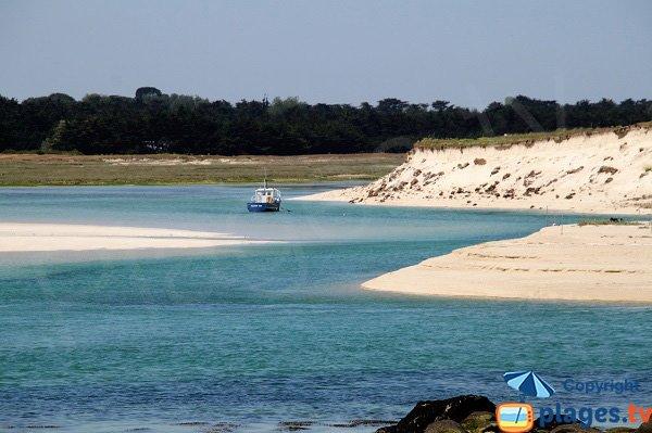 anse de Kernic en Bretagne