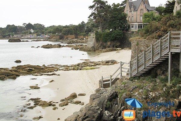 crique de Kerangrimen - Fouesnant - Bretagne Sud