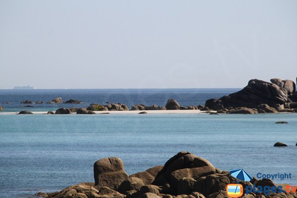 Karreg ar Feuillans island - Cléder