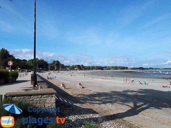 Accès à la plage de Kerfontaine à Sarzeau