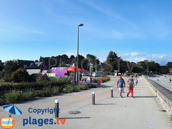 Abords de la plage de Kerfontaine - Sarzeau