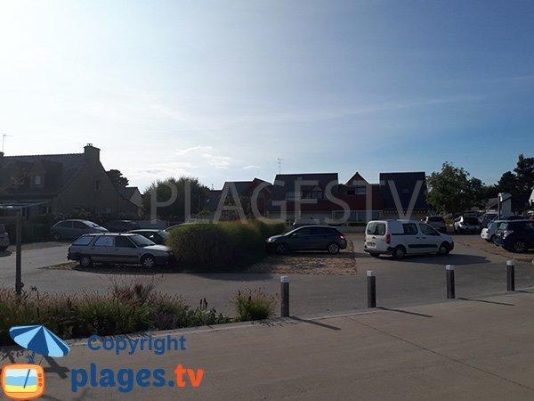 Parking de la plage de Kerfontaine - Sarzeau