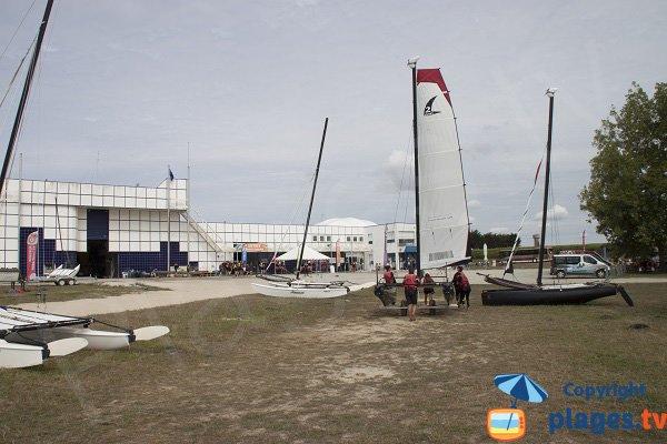 Nautical center in Larmor-Plage - Kerguélen