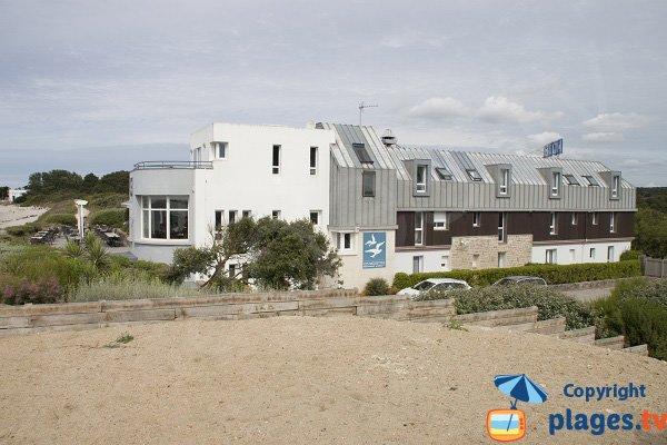 Hotel sur la plage de Kerguélen - Larmor-Plage