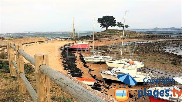 Photo de la plage de Port-Guyon à Lanmodez - Bretagne
