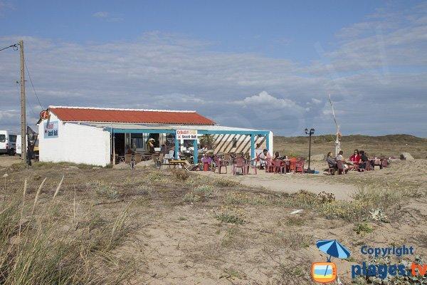 Snack sur la plage de Kerhillio