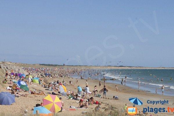 Photo de la plage de Kerhillio à Erdeven