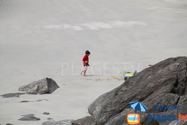 Plage de sable fin à Plouarzel