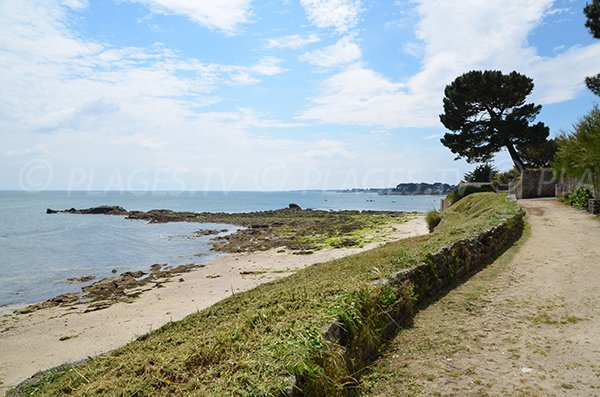 Kerhostin beach in St Pierre de Quiberon - France