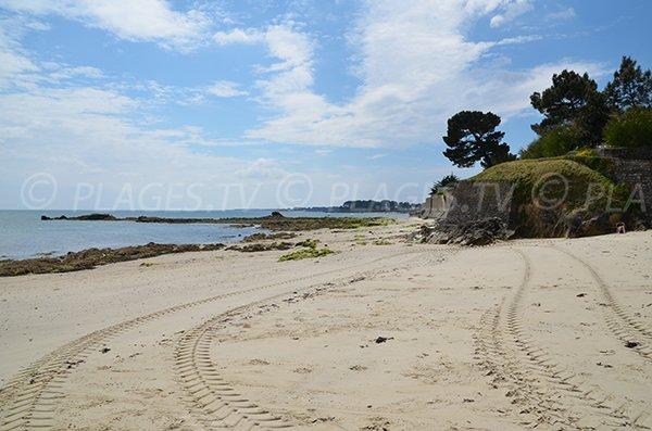 Sand beach near Kerhostin tip - Saint-Pierre-Quiberon