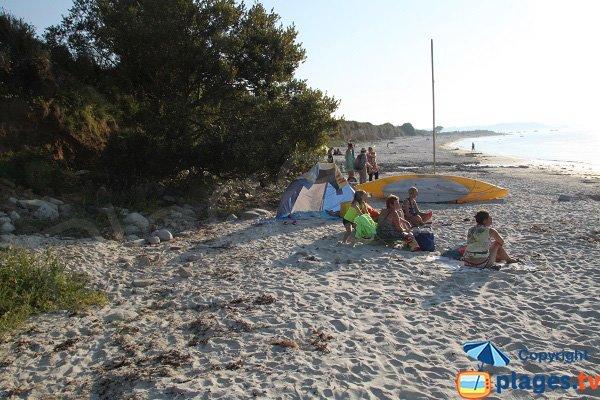 Soirée sur la plage de Keriec