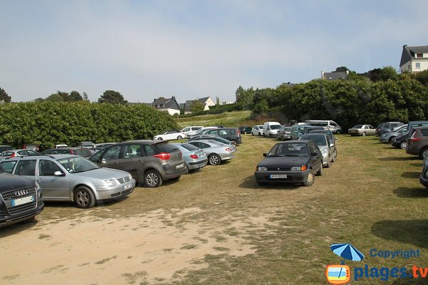 Parking de la plage de Keriec