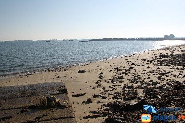 Photo de la plage de Kerigou à St Pol de Léon