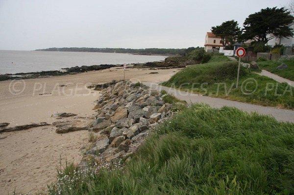 Coastal path of St Nazaire