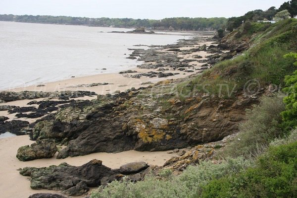 Belle Fontaine cove in St Nazaire