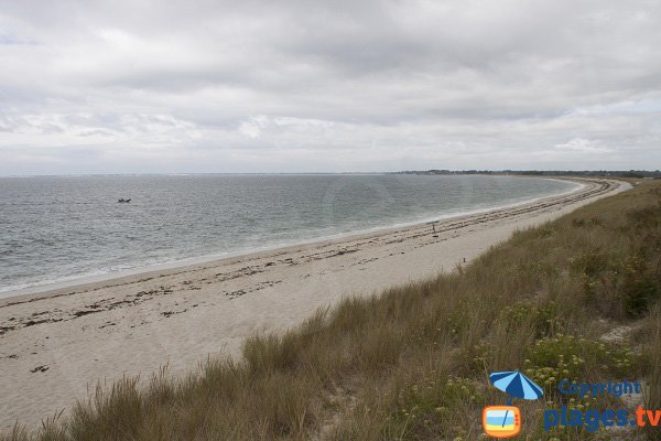 Photo de la plage de Kerler à Fouesnant