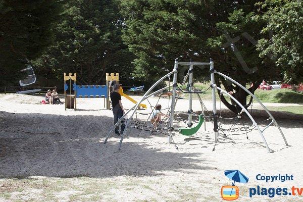 Jardin d'enfant - plage de Kerleven - La Forêt Fouesnant