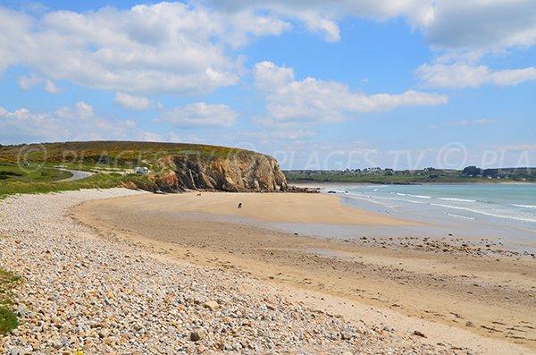 Photo de la plage de Kerloch à Crozon