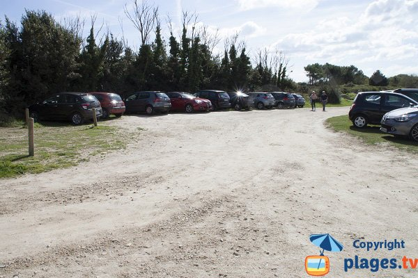 Parking de la plage de Kermor - Combrit