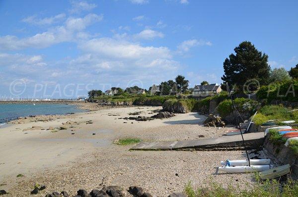 Beach near the old port of Quiberon