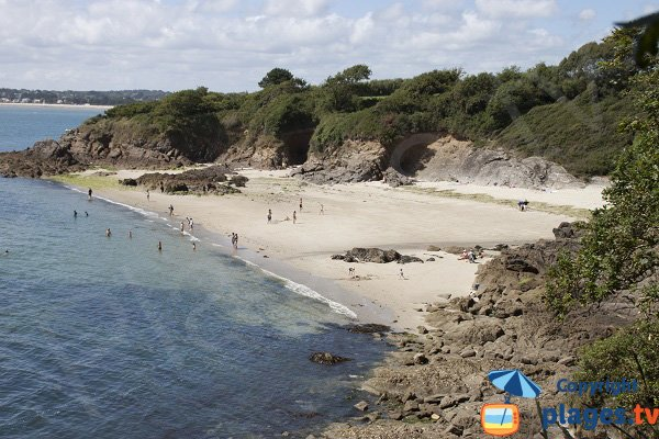 Kernous cove in Concarneau in Brittany