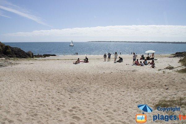 Most beautiful beach in Corcarneau